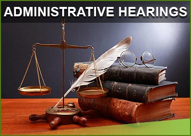 Administrative Hearings