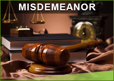 Misdemeanor Crime Defense
